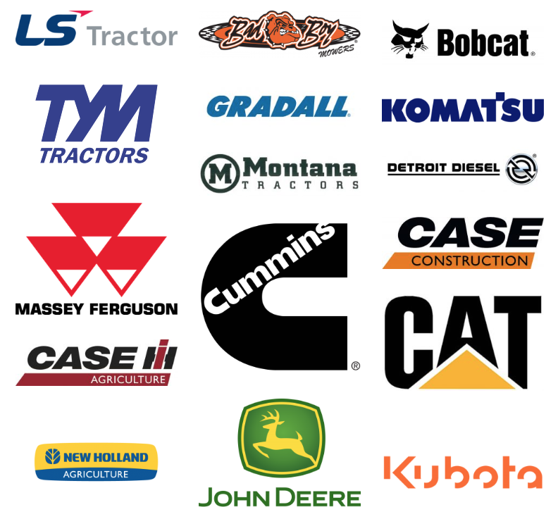 Brands Yellowstone Tractor can ServiceBrands Yellowstone Tractor can Service